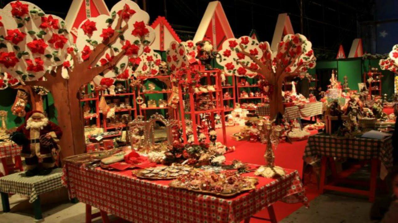 La casa di babbo natale decorazioni presepi alberi e for Youtube decorazioni natalizie