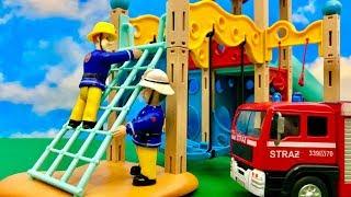 Strażak Sam  Niesamowity plac zabaw  Bajka dla dzieci PO POLSKU