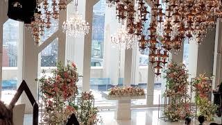 세계에서 가장 아름다운 웨딩홀 #하객수자유_#가족결혼식