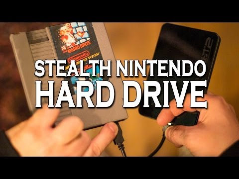 The NES Stealth Hard Drive! (Easy)