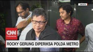 Usai Diperiksa di Polda Metro, Rocky Gerung Joging Lalu Teriak: Yes!