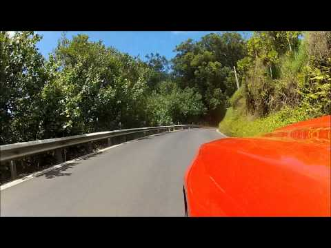 Rental SS Camaro on the Hana Highway, Maui HI