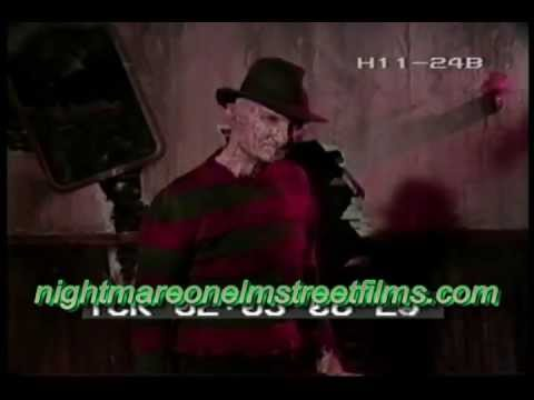 Robert Englund as Freddy Krueger in an unedited interview from the set of Nightmare 3 Dream Warriors