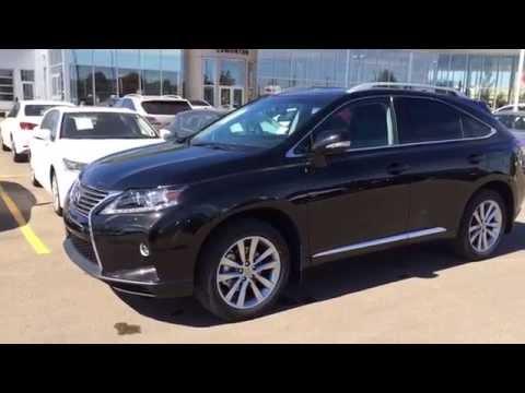 New Black on Black 2015 Lexus RX 350 AWD Tourinng Package Review - Southwest Edmonton