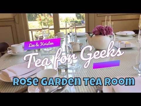 Rose Garden Tea Room at The Huntington Library & Gardens | Tea for Geeks - S01E01
