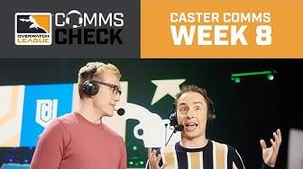 Caster Comms | Matt's Alien Abduction | Overwatch League 2020 Week 8