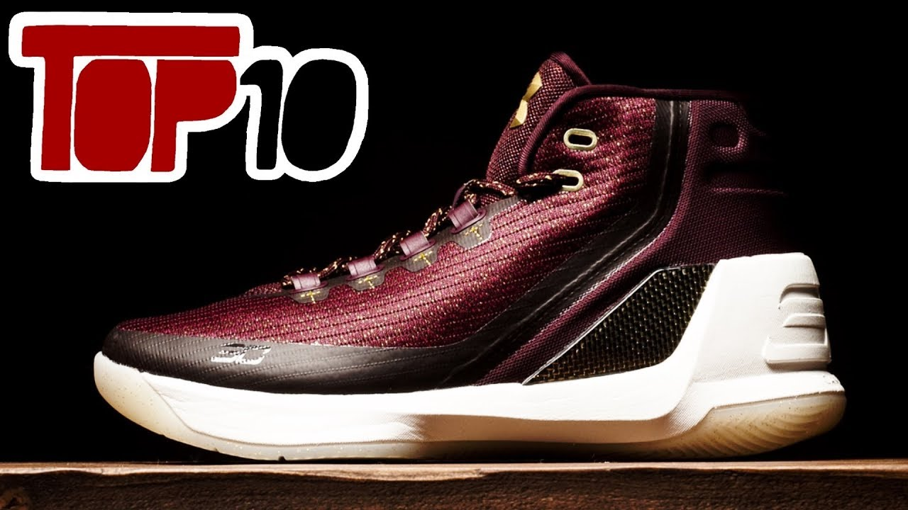 2b8cd2e201bf Top 10 Under Armour Curry 3 Shoes Of 2017 - YouTube