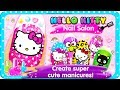 Cute Manicures MakeOver Dress Up Game Hello Kitty Nail Salon by Budge Studios Part 1 – Best Games
