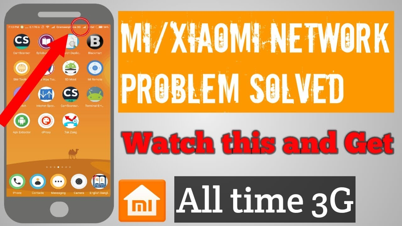 How to fix Network Problem issue Redmi Note 3 or any xiaomi/mi Phone