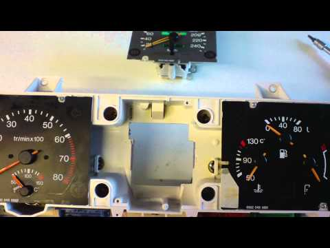 XM V6 REPAIR how to convert cable speedometer for electronic one