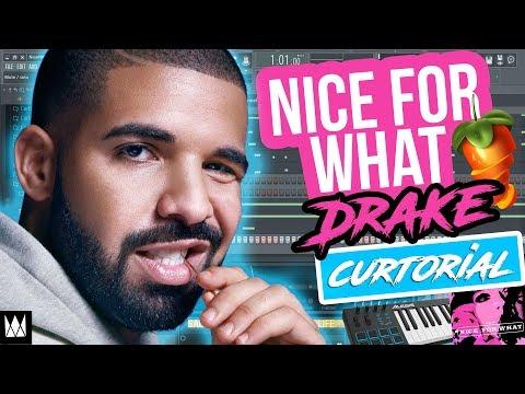 Drake - Nice For What (FL Studio 12 Tutorial)