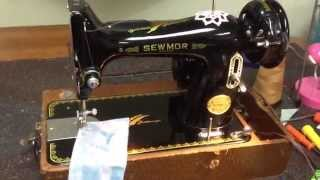 SewMor Featherweight Test Run!