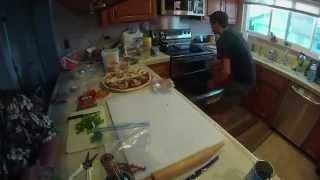 GoPro Pizza Making Timelapse