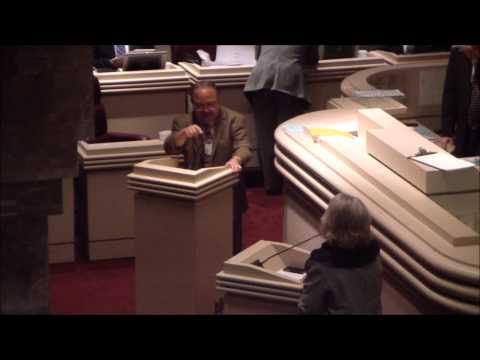 AL Rep Alvin Holmes Controversial Abortion Comments on House Floor
