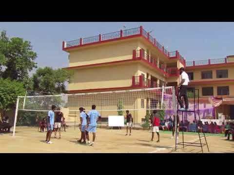 Cluster 4 volleyball Finals -Jagran public school Lucknow Vs baldeo public school mathura