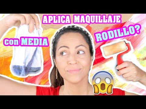 Reto Maquillaje con Rodillo o Media! OMG - Lunes de Tag SandraCiresArt