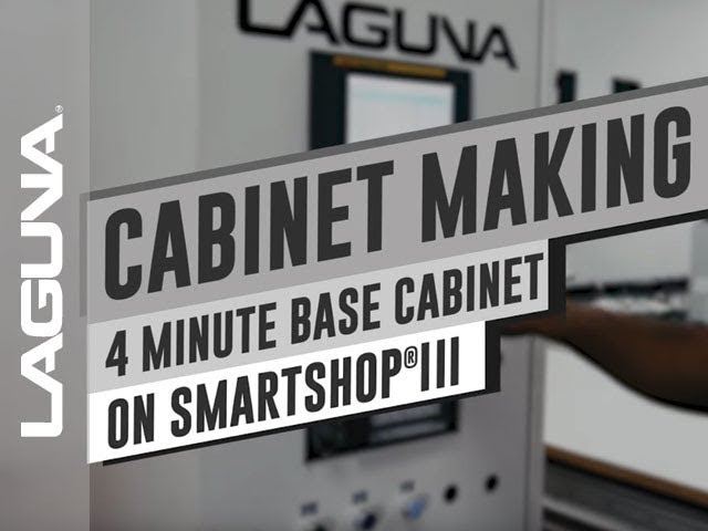CNC Milling a Cabinet in 4 Minutes | Laguna Tools