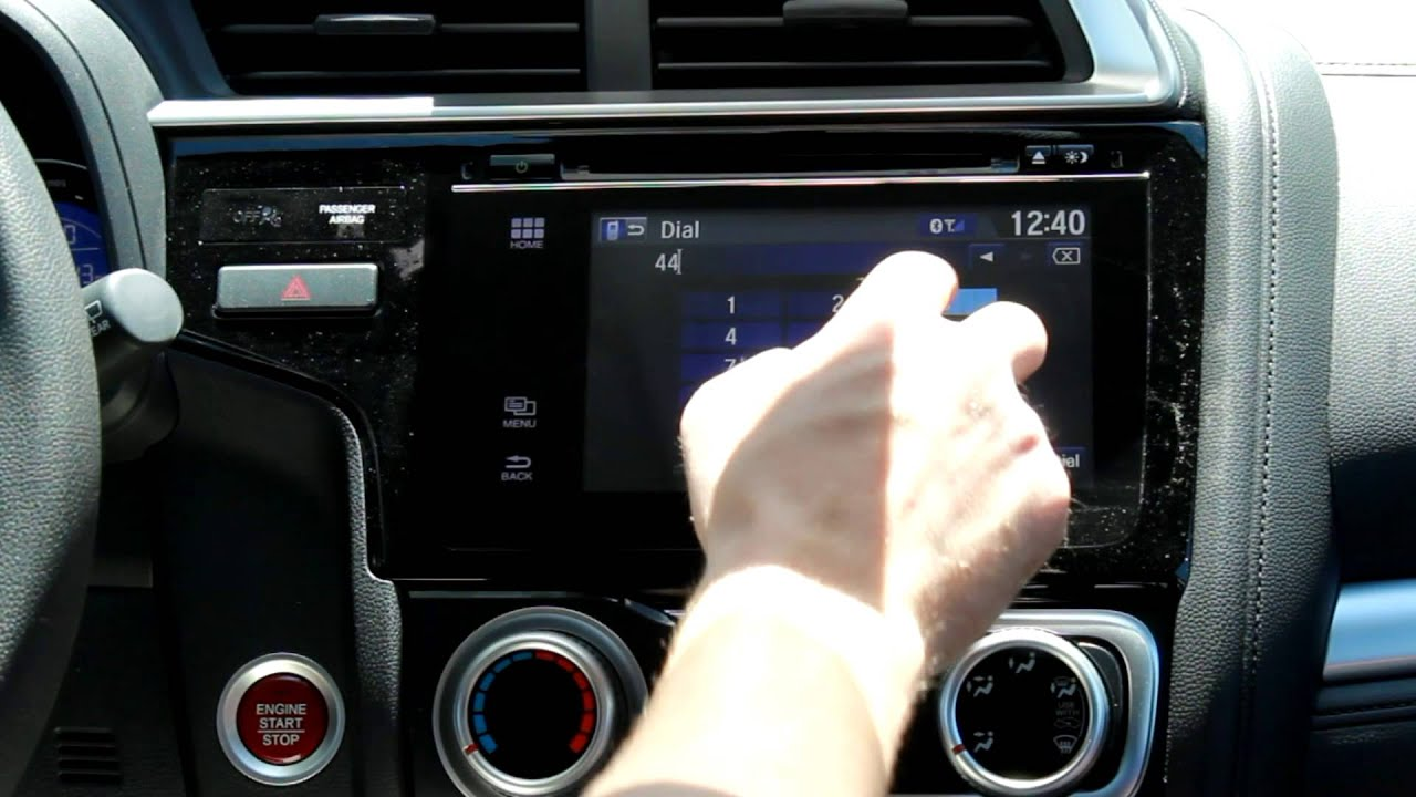 hight resolution of how to make a call with bluetooth in a 2015 honda fit