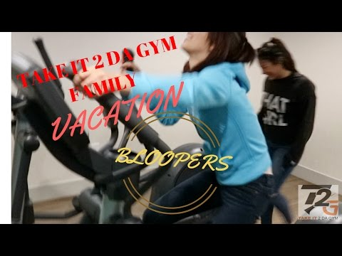 Takeit2dagym Family Christmas Vacation Bloopers - Family Motivation