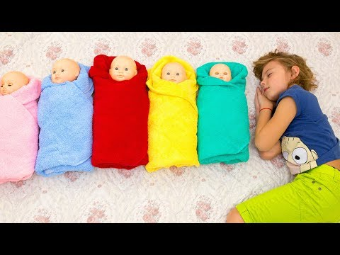 Are you sleeping Baby John Nursery Rhyme Song - Kids Video