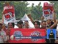 Tolak Aturan Menhub, Pengemudi Taksi Online Unjuk Rasa di Depan Monas - BIS 14/02