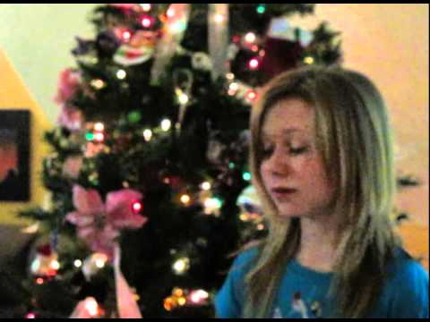 "Ciara Wallace singing ""Gesu Bambino"" (Best version)"
