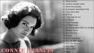 Connie Francis Greatest Hits Full Album - Best Songs Of Connie Francis Platinum Album