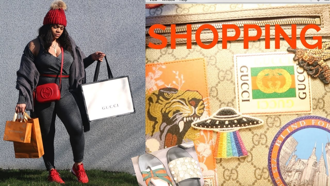 742580dc3 AWESOME! LUXURY SHOPPING VLOG || Gucci, Louis Vuitton - YouTube