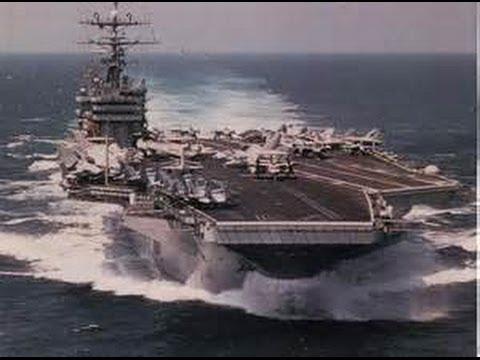 USS George Washington Displays Military Power Near China