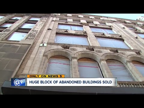 Block of abandoned downtown Cleveland buildings just sold
