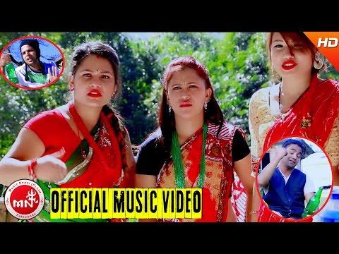 New Nepali Comedy Lok Geet 2073 | Raksi Ganayo - Bhojraj Kafle & Roshani Rasaili