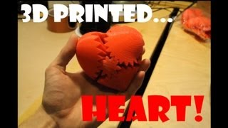 3D printed mechanical heart
