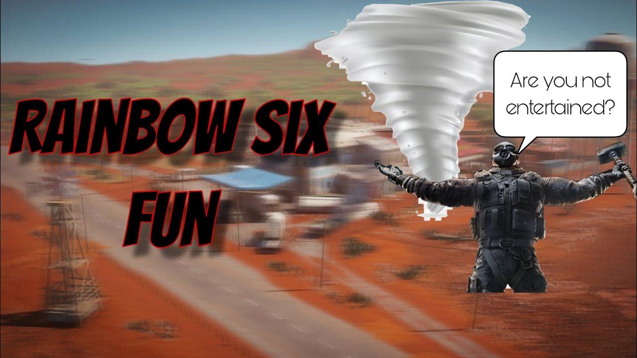 I want Johnny Sins on my wall | Rainbow Six Fun