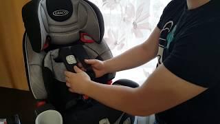 Graco Nautilus Latch детское автокресло обзор