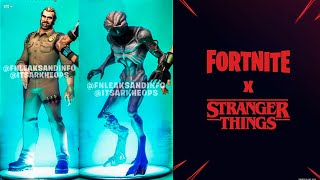 SKINS FILTRADAS DE STRANGER THINGS - JIM HOPPER Y EL DEMOGORGON - FORTNITE