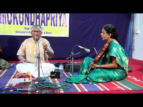 GANA MUKUNDHAPRIYA, CHENNAI (MADRAS) MUSIC FESTIVAL 2017 (PART 2 OF 2)