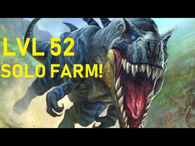How To Solo Farm Devilsaurs At Level 52 Classic Wow Hunter Youtube