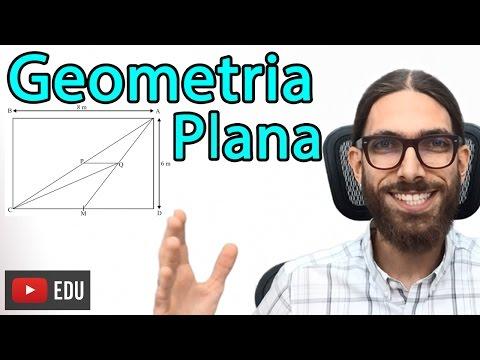 Geometria Plana  - Exercícios de Matemática - Professor Rafa Jesus - Tá Lembrando?