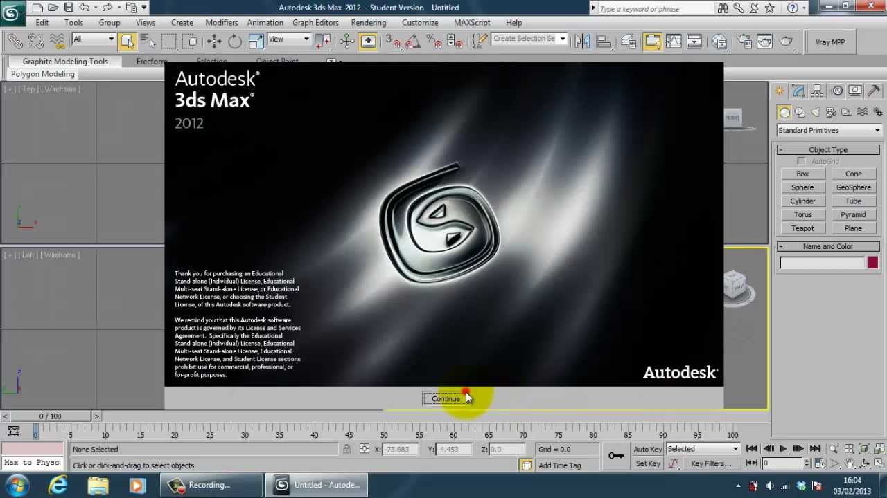 autocad 2013 studentenversion