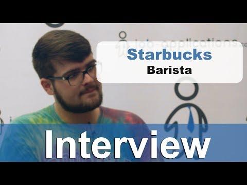 Starbucks Interview - Barista 7