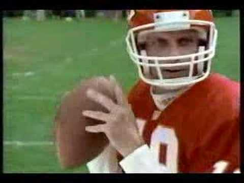 Sega NFL 95 football commercial with Joe Montana