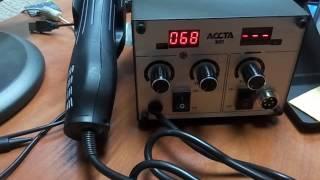 Обзор  паяльной станции ACCTA 301(Небольшой обзор паяльной станции ACCTA 301 производства Украина., 2016-12-07T20:11:28.000Z)