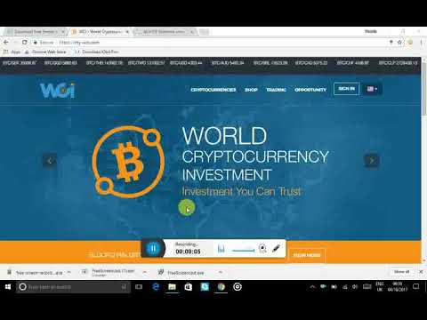 wci world cryptocurrency investment