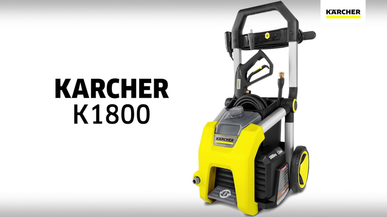 Karcher K1800 Electric Pressure Washer Youtube