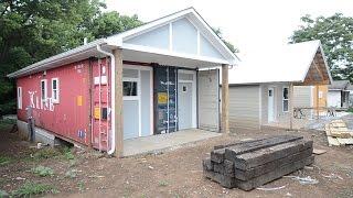 Shipping Container Home Part 2 The Reveal - Lexington Kentucky Real Estate Show #31