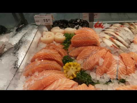 Best Fish Display Counter I Have Seen - Helsinki