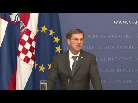Cerar in Plenković o implementaciji arbitražne razsodbe