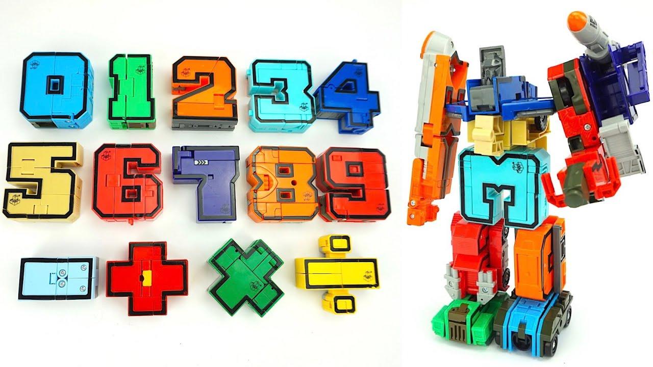 Трансботы детский конструктор трансформеры