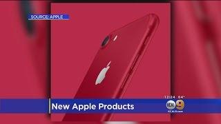 Apple Unveils New iPad, Red iPhone 7