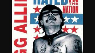 GG Allin - Sluts in the city (hated in the nation)